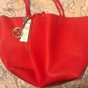 BCBG Tote (Reversible -Red & Black)